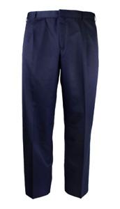 KING GEE PERMANENT PRESS NAVY DRESS PANT WORKWEAR - SIZE 107  (0305)