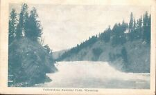 Postcard,Yellowstone National Park Cyanotype,1908, River