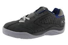Marca Nuevo Cuero madre Oakley Gris/Azul Zapatillas Size UK 5,EUR 38.5