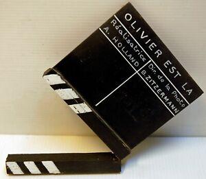 CLAP original - OLIVIER EST LA - A.HOLLAND- 199? - 13 x 13,5 cm