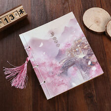 Chinese Style Vintage Gift Notebook Journals Diary Handmade Colored Pages Memos