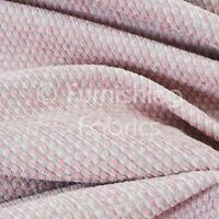 Textured Plain Weave Furnishing Upholstery Drapery Curtains Sofa New Pink Fabric