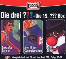 3 CDs * DIE DREI ??? (FRAGEZEICHEN) - BOX 19 - FOLGEN 55-57 # NEU OVP =