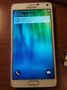 Samsung Galaxy Note 4 N910A 32GB White AT&T Cell Phone