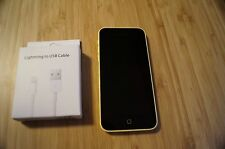 9/10 MINT CONDITION Apple  iPhone 5c - 16GB - Yellow AUS STOCK