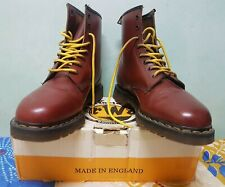 Vintage Dr Martens Made in England, Cherry Red size UK11