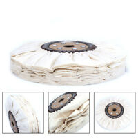 6-12'' Cotton Airway Buffing Wheel Pad Polishing Kit Wheel Disc For Rotary Tools