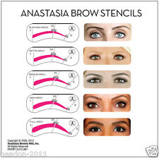 NEW*5 PIECE EYEBROW STENCIL KIT BY ANASTASIA BEVERLY HILLS