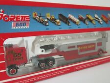 MAJORETTE, 1:87 Scale, FDNY NEW YORK FIRE LADDER TRUCK #55, VINTAGE 600 Series