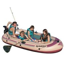Solstice Voyager 800 Inflatable 6 Person Boat Raft