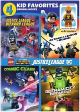 4 Kid Favorites: Lego Dc Super Heroes [New DVD] 2 Pack