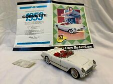 1953 Chevrolet Corvette With Certificate - Franklin Mint - White