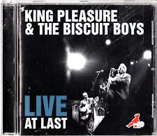 King Pleasure & The Biscuit Boys- Live at Last CD (2010) Best of in Concert R&B