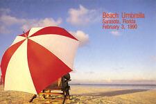#2443 First Day Ceremony Program 25c Umbrella Booklet Stamp