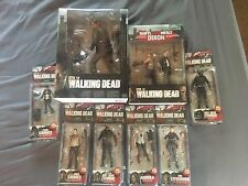 The Walking Dead Series 4 Action Figures Complete Set McFarlane Toys New In Box