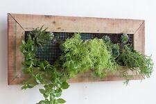 Wooden Wall Planter Box - Rectangular