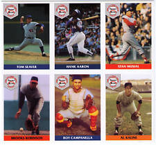 1992 TOM SEAVER Front Row cards set uncut sheet promo