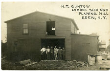 RPPC NY Eden HT Gumtow Lumber Yard & Planing Mill Erie County