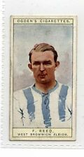 (Jg105-100) Ogdens,Captains Of Football Clubs & Colours, F. Reed ,1926, #42