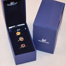 New $160 Authentic Swarovski 1065356 Mimosa Crystal Ring Set 55 M 7