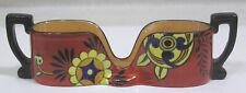 Vtg Art Deco Noritake Stylized Floral Spooner M in Wreath Mark