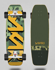 Surfskate Glutier Complete With Sgi Sakari Surf Skate Trucks - Camo 31.5 Fat Nos