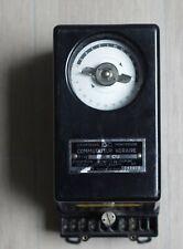 Compteurs Montrouge Commutateur Horaire Horloge 1970 CBNO France Switch Off Peak