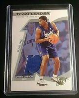 MICHAEL FINLEY 2002-03 Topps Ten Basketball Team Leader Game Used Relics JERSEY