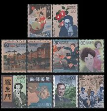 20th Century Millennium stamps from sheet 3 (10 USED Stamps) Scott 2689a-j