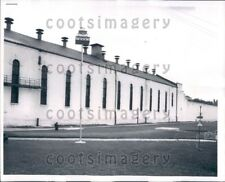 1958 Wire Photo South Cell Block Bridewell Prison Chicago