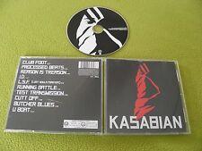 Kasabian - 1st RARE Original EU IMPORT CD + Hidden Track / Red Cover / Enhanced