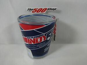 2017 Indianapolis 500 101 Running Event Collector Shot Glass Indy Anniversary