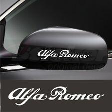Alfa Romeo Stickers decals for Mirror 145 146 147 155 156 159 164 166 33 4c 75