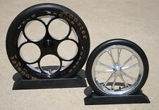 Jr Dragster Wheel Chocks Injection molded to accurately & safely secure your car