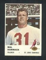 1961 Fleer #20 Mal Hammack NM/NM+ Cardinals 107443