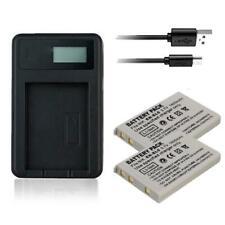 2x Battery & USB Charger En-el5 for Nikon Coolpix P6000 S10