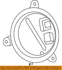 Dodge CHRYSLER OEM Durango Headlight Head light lamp-Control Module 68224607AB