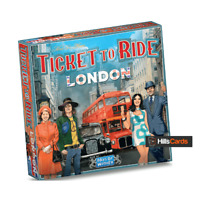 Ticket To Ride: London | Board Game | By Days Of Wonder | 2-4 Player | DOW720061
