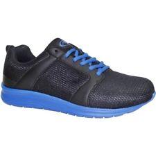 Athletic Works Men's Mesh Jogger Athletic Shoes Black Blue Size 8.5 Wide NEW