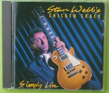 Stan WEBB's CHICKEN SHACK   Simply live