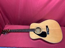 1980's YAMAHA FG-355L II FULL SIZE LEFT HANDED ACOUSTIC GUITAR with CASE
