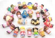 Promotion Random 10pcs Fisher Price Little People Figure Doll Baby Girl Gift Toy