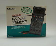 Vintage Radio Shack 38-Range Lcd Digital multimeter
