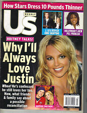 BRITNEY SPEARS US Weekly Magazine 1/20/03 LOVES JUSTIN TIMBERLAKE