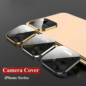 For iPhone 11 11 Pro Max 12 Full Cover Tempered Glass Camera Lens Protector