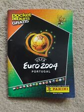 PANINI EURO 2004 POCKET MINI ALBUM  - EMPTY - NEW