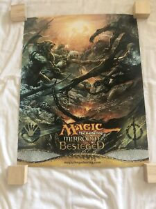 Magic The Gathering Mirrodin Besieged Promo Poster