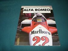 ALFA ROMEO KIMBERLEY'S GRAND PRIX TEAM GUIDE No. 8, NEW 1983 RACE CAR BOOK SALE