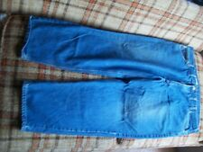 Carhartt Mens Size 46x30 (Actual 44x30) Relaxed Fit Jeans 100% Cotton B17 DST