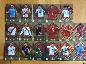 Panini Adrenalyn XL Fifa World Cup Russia 2018 Limited Edition cards